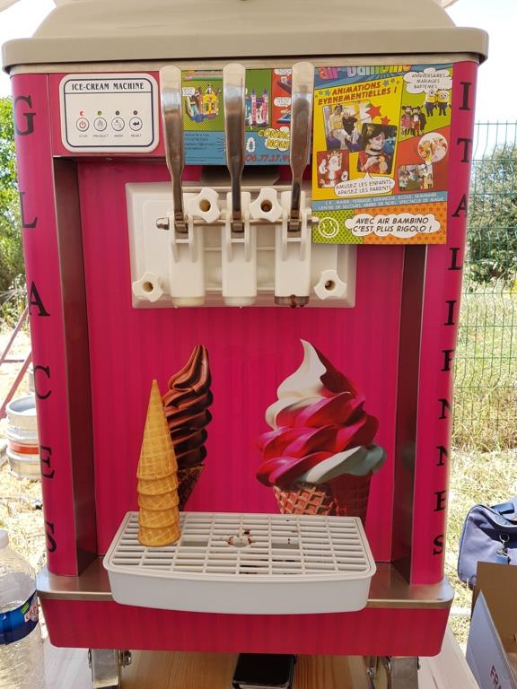 Machine à glace italienne