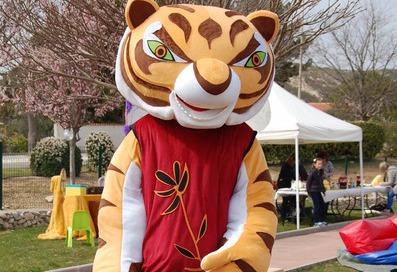 Mascotte Mâitre Tigresse