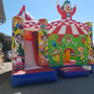 Château gonflable Cirque